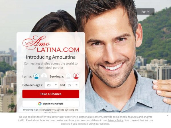 Review Amo Latina Site